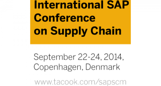 International SAP Conference Supply Chain 2014