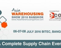 Asia Warehousing Show – Bangkok 2016