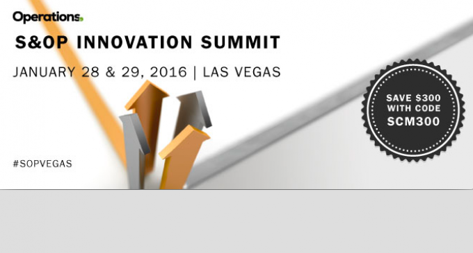 S&OP Innovation Summit – LAS VEGAS 2016