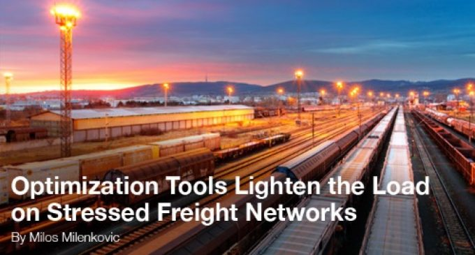 Optimization Tools Lighten the Load on Stressed Freight Networks