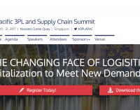 The 4th Annual Asia- Pacific 3PL and Supply Chain Summit – SINGAPORE November 2017